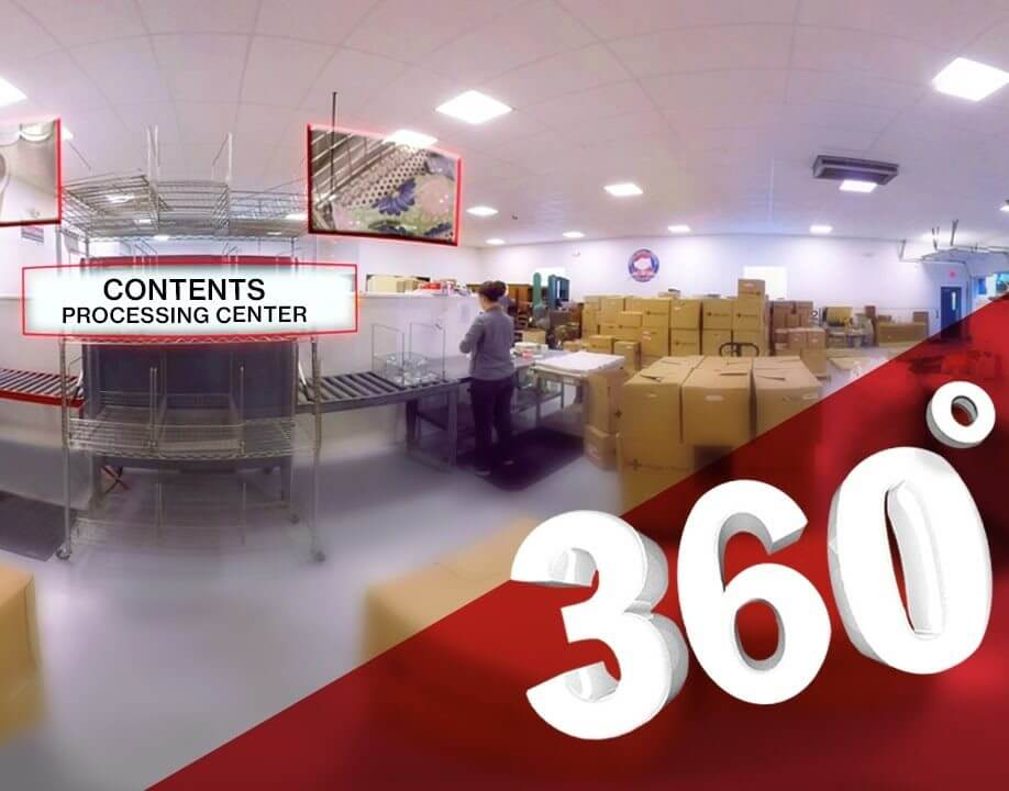 Contents Restoration Facility 360 Tour