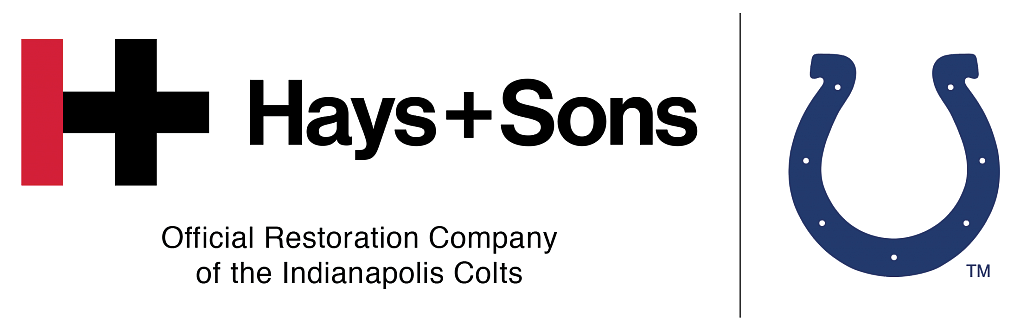 Hays + Sons, Official Restoration Company of the Indianapolis Colts