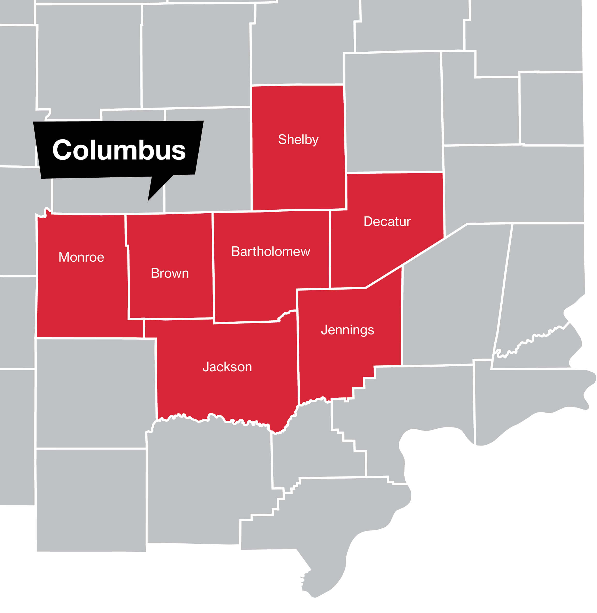 Columbus Coverage Map